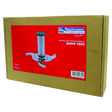 04MM-TB09 - Projector Ceiling Mount Packaging Image