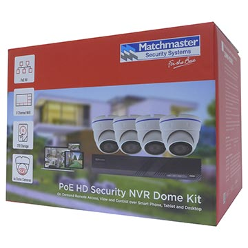 50MM-KD001 - PoE HD Security NVR Dome Kit Packaging Image