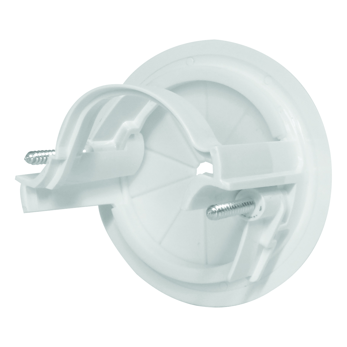 05MM-WP66 - 60mm Wall Entry Point for AV and Low Voltage Electrical Cable Management Back of Product Image