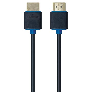 04MM-SL0.75 - High Speed 4K HDMI® 0.75M Cable V2.0 (Installer Grade – Slimline Design)
