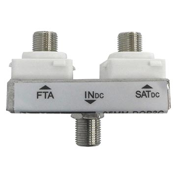 05MM-DOP2C - Diplexer FTA/SAT (Suitable For Clipsal® Double Gang Plate)
