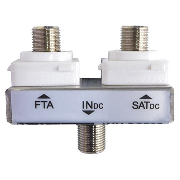 05MM-DOP2H - Diplexer FTA/SAT (Suitable for most HPM wall plates)