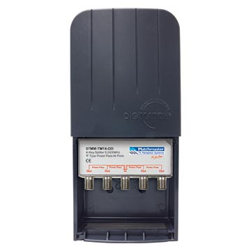 07MM-TM14-OD - 4 Way Splitter 5-2400MHz