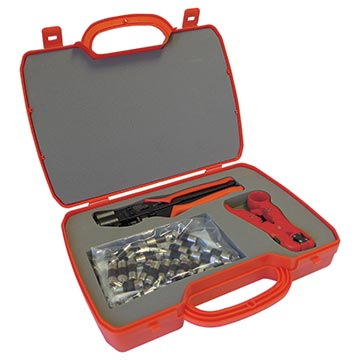 08MM-SKY-KIT2 - Professional Compression Tool Kit With Case