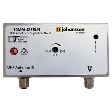 10MM-J25SLN - Amplifier UHF 4G Filter Super Low Noise