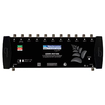 10MM-MST308 - Satellite Multiswitch 3 x 8