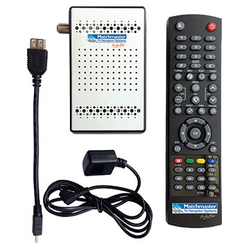 13MM-DSR16 - SAT Receiver Matchmaster Mini Satellite DVBS2 HDMI