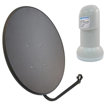 13MM-R65P-K2 - 65cm Satellite Dish with 11.30 LO LNB