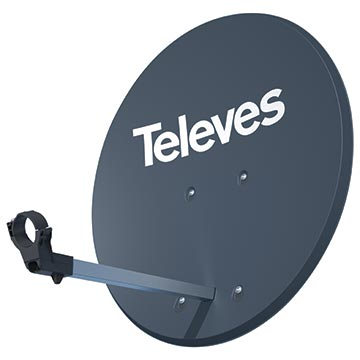 13MM-R83ALU - Satellite Dish Compatible with FreeView Satellite and SKY TV