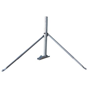 13MM-SM04HD - Satellite Roof Mount – Stays + 800mm Mast