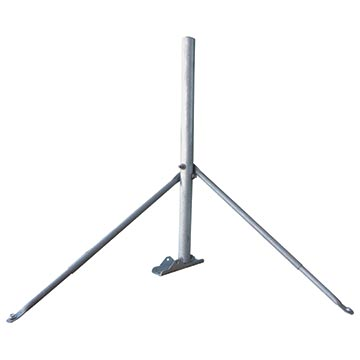 13MM-SM04LM - Satellite Roof Mount – Stays + 1100mm Mast