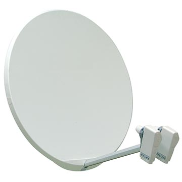 13MM-SMC80 - SMC Fibreglass Satellite Dish 80cm