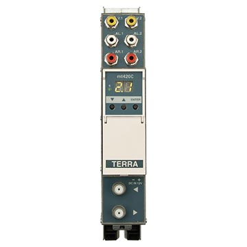 14MM-MT420C - Twin Modulator 7-8MHz Selectable Stereo