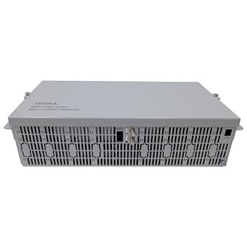 "14MM-UC380 - 19"" 8-Card Rack plus Power Supply"