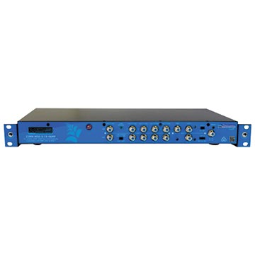 "21MM-MDS-S-19-4AMP - 3x2 MDS Satellite Amplifier 4 OUT + TAP 19"" IRU, Rack Mount"