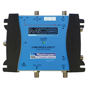 21MM-MDS-S-2SPLIT - 2-Way MDS Splitter