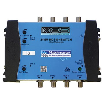 21MM-MDS-S-4SWITCH - 4-Way MDS System Switch