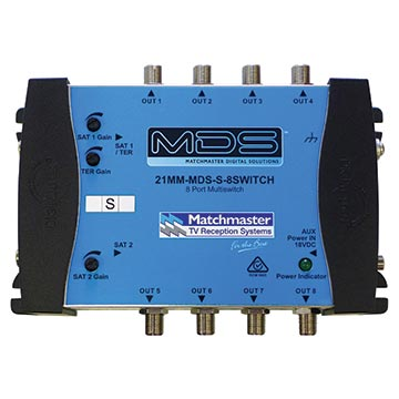 21MM-MDS-S-8SWITCH - 8-Way MDS System Switch