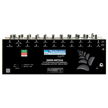 30MM-MST316 - Multiswitch 3 x 16 with Backfeed (Hub and Wall Friendly)