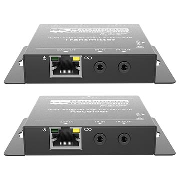 34MM-2K50 - HDMI Extender, 1x HDMI Loop Out, 1x Cat5e/6 50m Output with IR and PoC