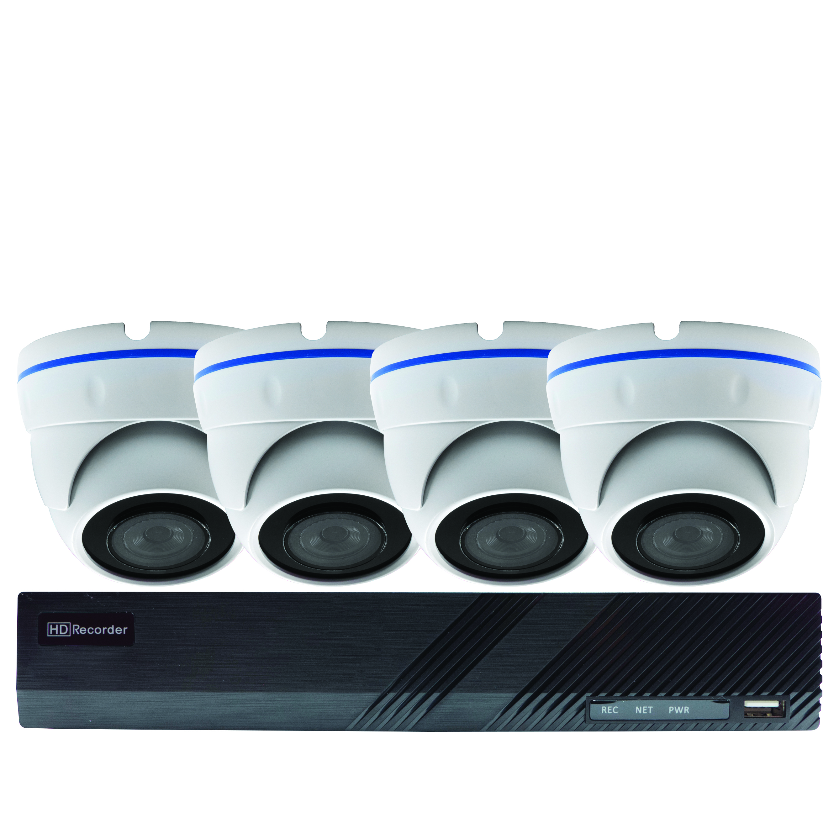50MM-KD001 - PoE HD Security NVR Dome Kit