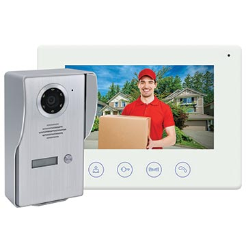 50MM-WD03 - Wi-Fi Video Doorbell with Colour Monitor and Smart Device Access